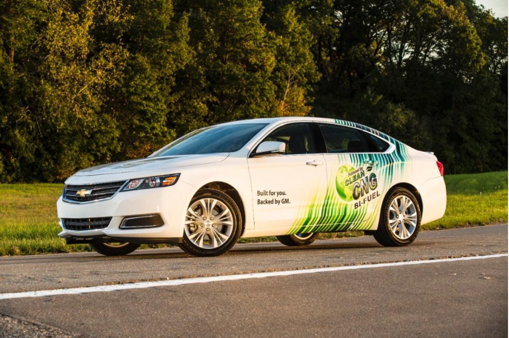 2015 Chevrolet Impala Bi-Fuel Natural Gas