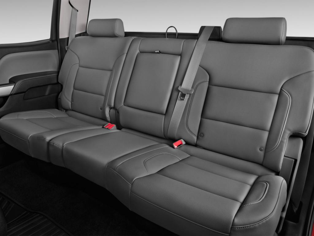 image 2015 chevrolet silverado 2500hd 2wd crew cab 153 7 ltz rear seats size 1024 x 768. Black Bedroom Furniture Sets. Home Design Ideas