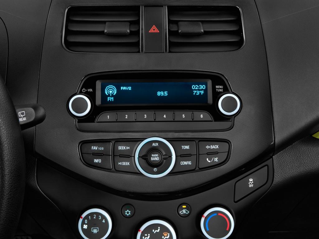 Image 2015 Chevrolet Spark 5dr Hb Cvt Ls Audio System Size