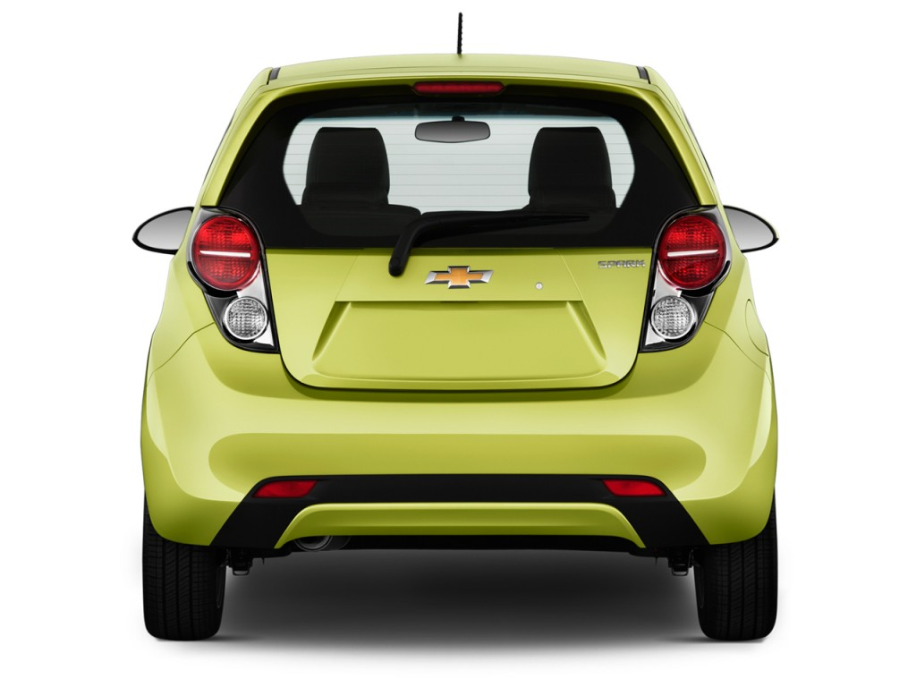Image 2015 Chevrolet Spark 5dr Hb Cvt Ls Rear Exterior