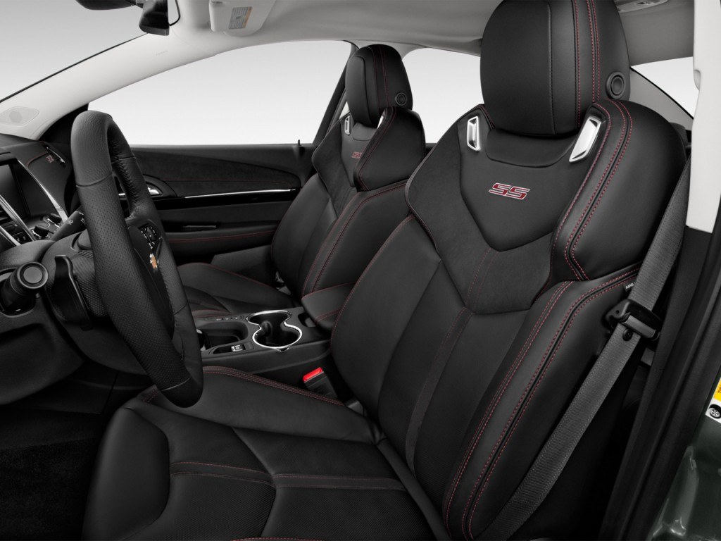 Image: 2015 Chevrolet SS 4-door Sedan Front Seats, size ...