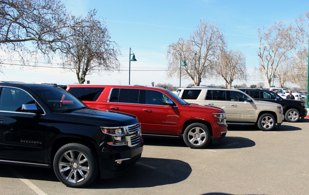 2015 Chevrolet Suburban first drive