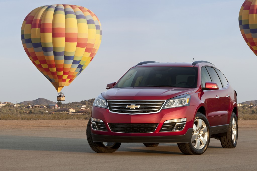 GM Stops Sale Of 2015 Buick Enclave, Chevrolet Traverse, GMC