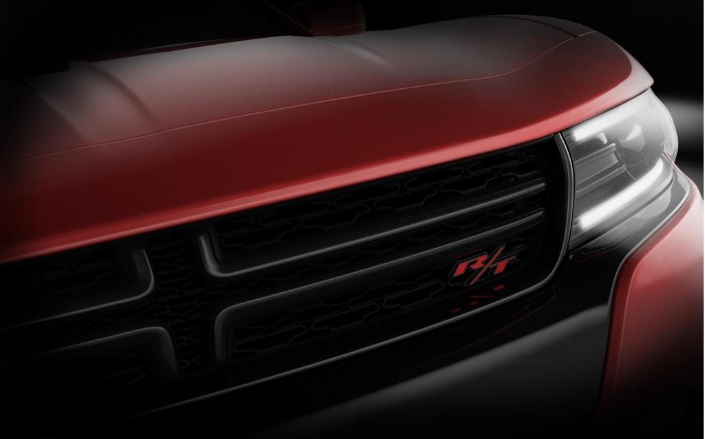 2015 Dodge Charger teaser image