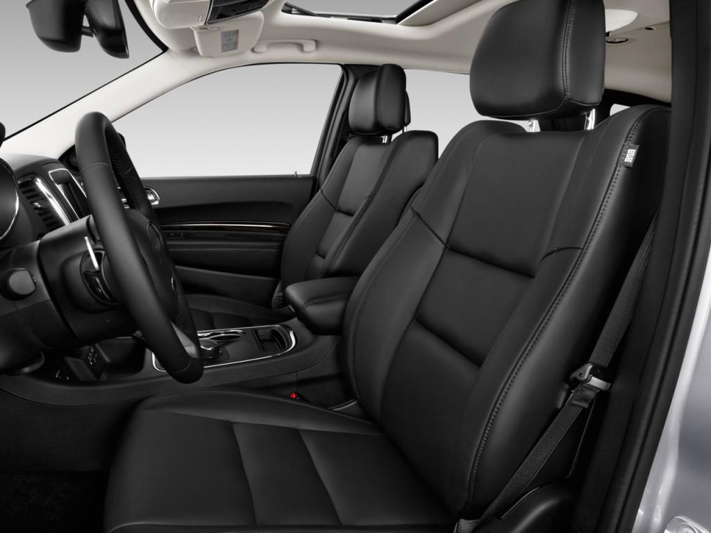 Image 2015 Dodge Durango 2wd 4 Door Limited Front Seats