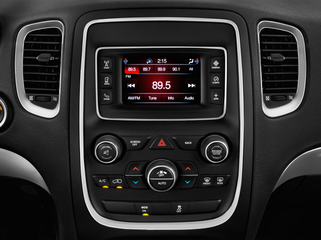 Image 2015 Dodge Durango 2wd 4 Door Sxt Audio System