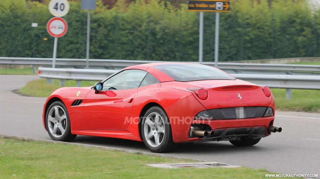 2015 Ferrari California replacement spy shots