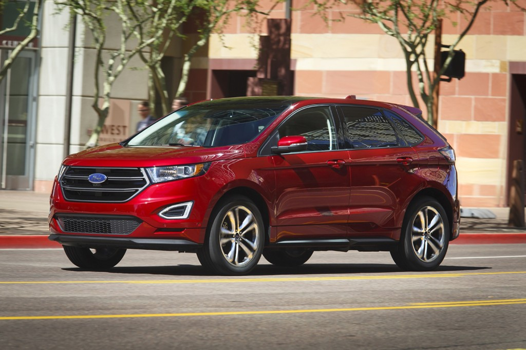 ford edge vw sportwagen first drives what s new the. Black Bedroom Furniture Sets. Home Design Ideas