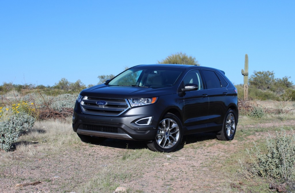 Image 2015 ford edge first drive march 2015 size for Ford edge motor oil type