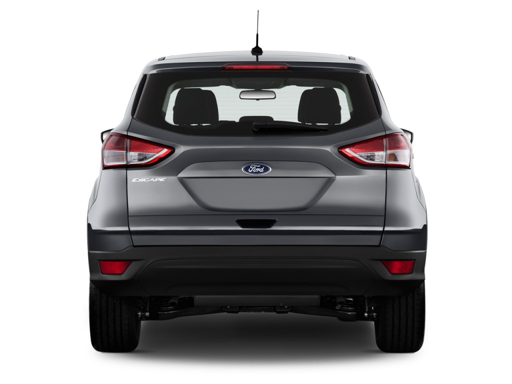 Image 2015 Ford Escape Fwd 4 Door S Rear Exterior View Size 1024 X 768 Type Gif Posted On