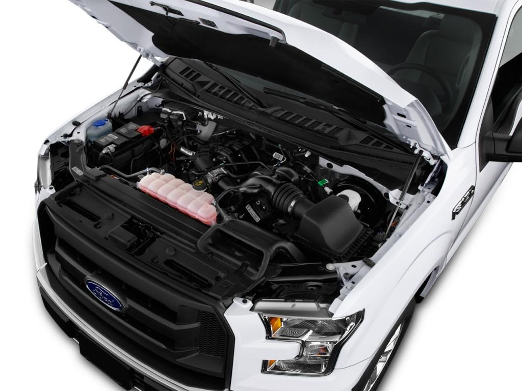"""Image: 2015 Ford F-150 2WD Reg Cab 122.5"""" XL Engine, size ..."""