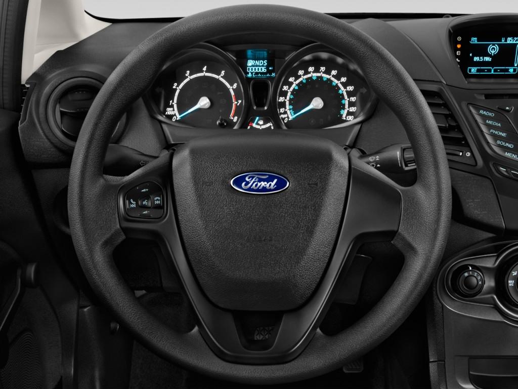 image 2015 ford fiesta 4 door sedan s steering wheel size 1024 x 768 type gif posted on. Black Bedroom Furniture Sets. Home Design Ideas