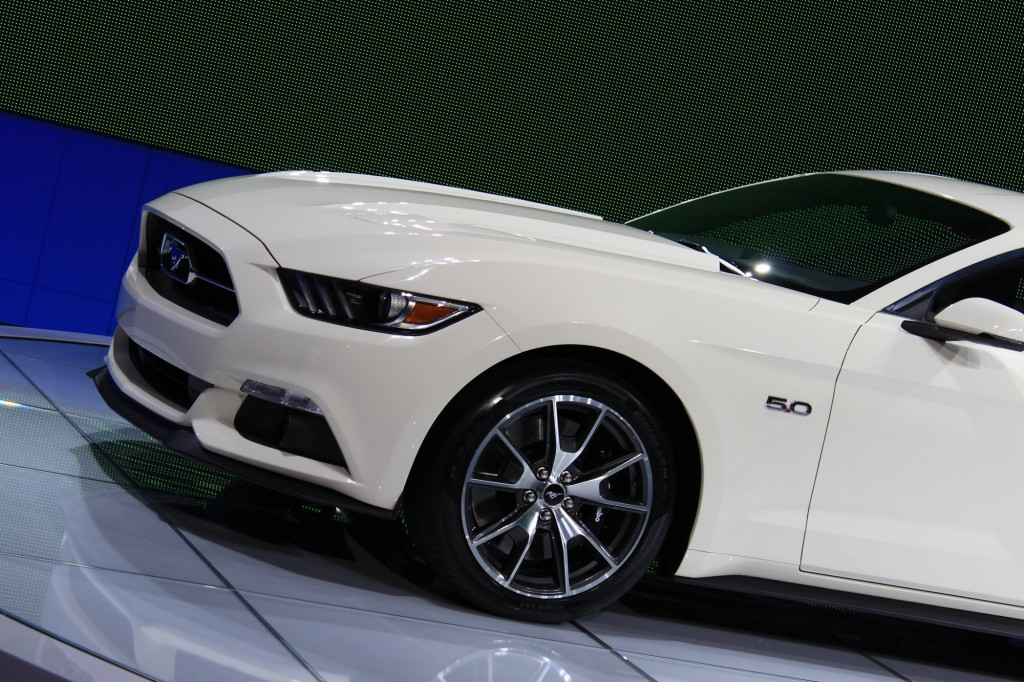 2015 Ford Mustang 50 Year Limited Edition, 2014 New York Auto Show