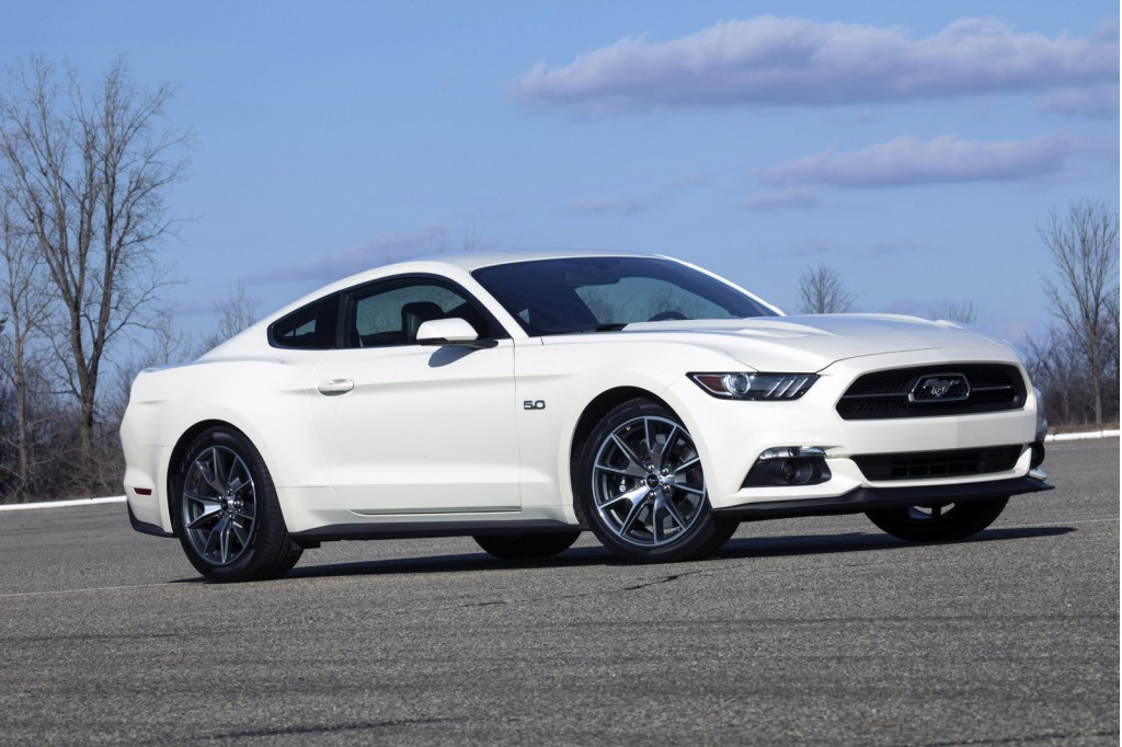 2015 Ford Mustang 50 Year Limited Edition