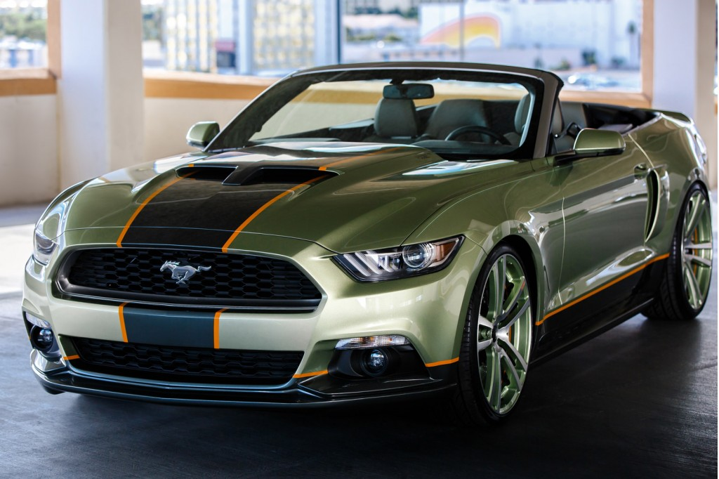 Image 2015 Ford Mustang By Chip Foose 2014 Sema Show