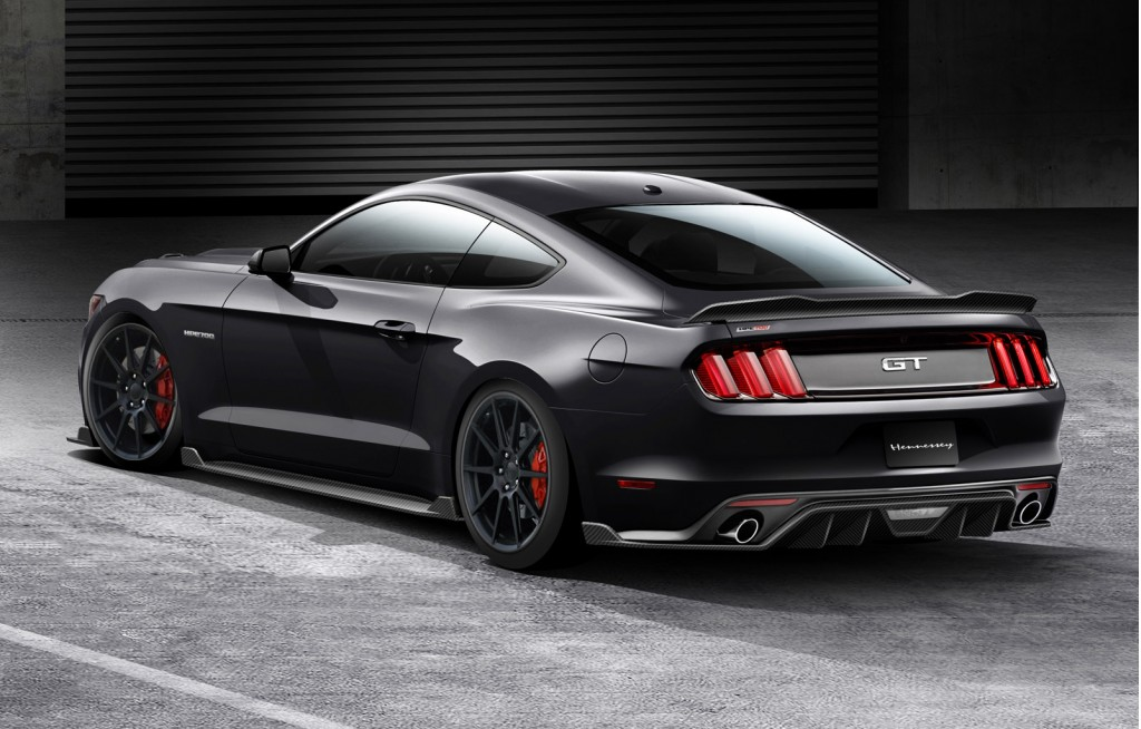 2015 Ford Mustang GT with Hennessey HPE700 package