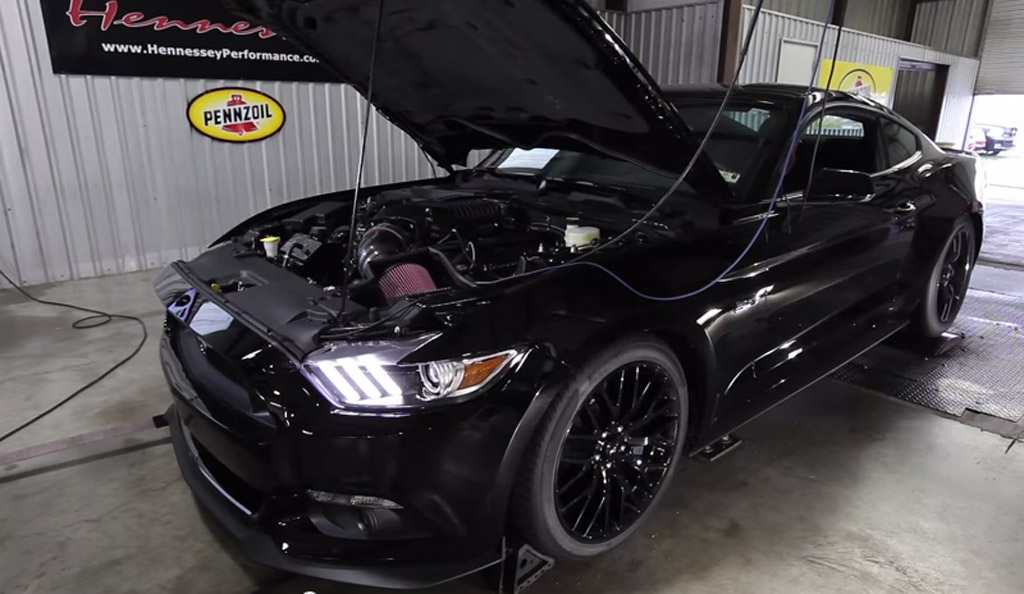 2015 Ford Mustang Tuned By Hennessey Produces 663 Hp At The Wheels