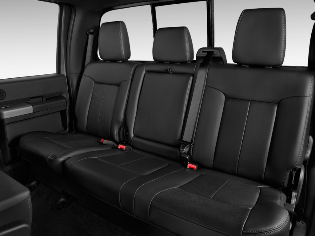 "Image: 2015 Ford Super Duty F-350 SRW 4WD Crew Cab 156"" Lariat Rear Seats, size: 1024 x 768 ..."