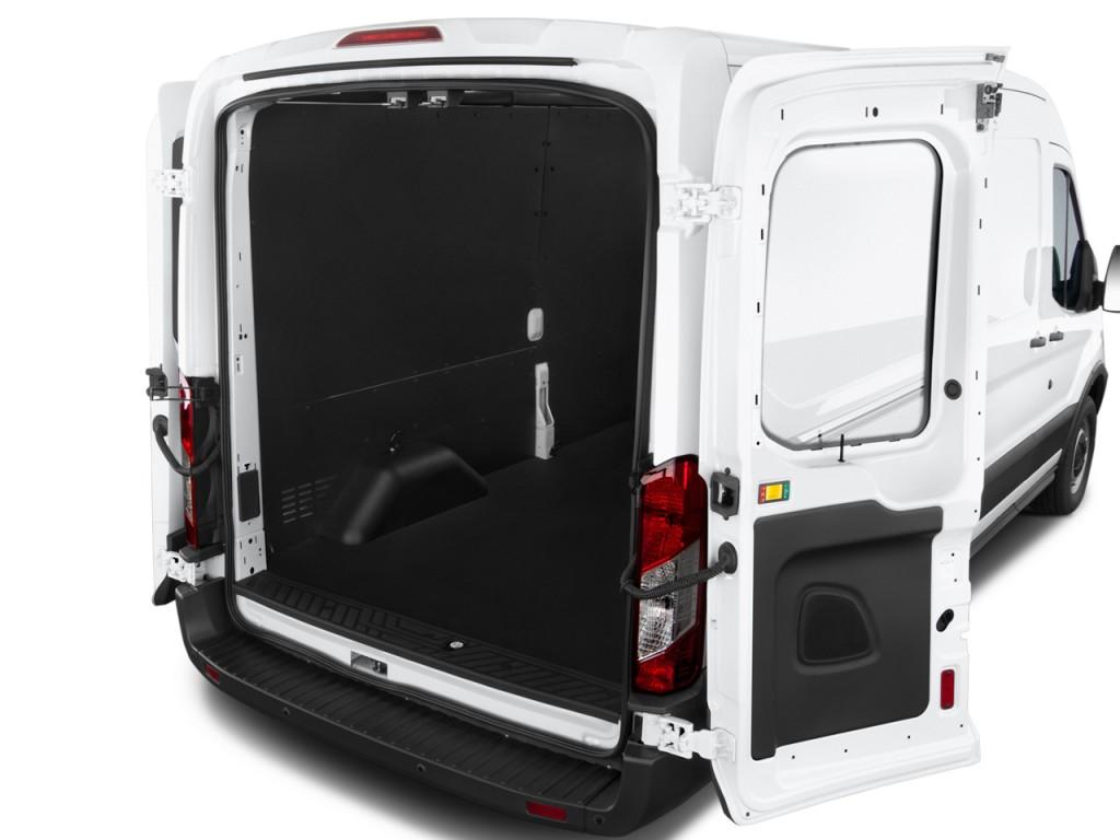 "Image: 2015 Ford Transit Cargo Van T-250 130"" Med Rf 9000 GVWR Sliding RH Dr Trunk, size: 1024 x ..."