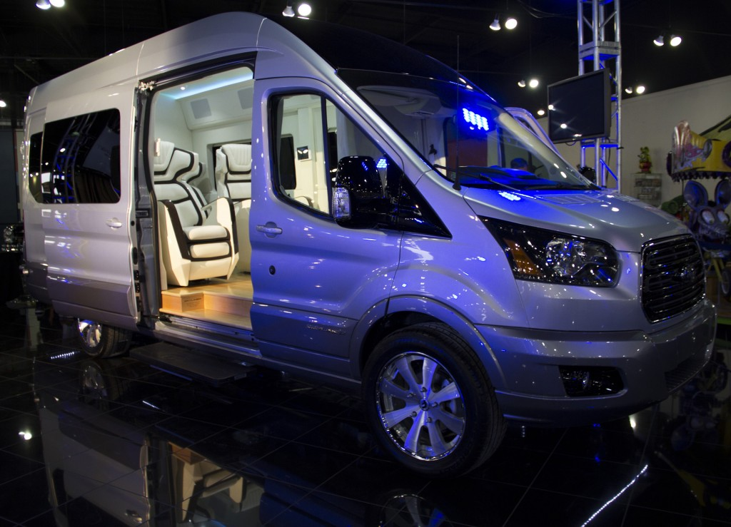 Ford Transit Skyliner Concept Is The New York Auto Shows Party Van