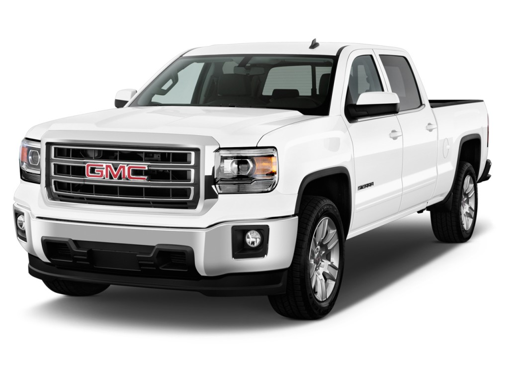 image 2015 gmc sierra 1500 2wd crew cab 143 5 sle angular front exterior view size 1024 x. Black Bedroom Furniture Sets. Home Design Ideas