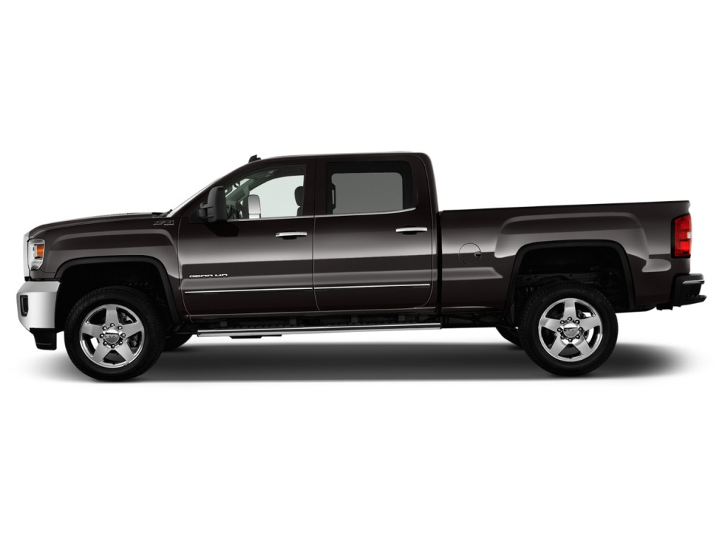 image 2015 gmc sierra 2500hd 2wd crew cab 153 7 sle side exterior view size 1024 x 768 type. Black Bedroom Furniture Sets. Home Design Ideas