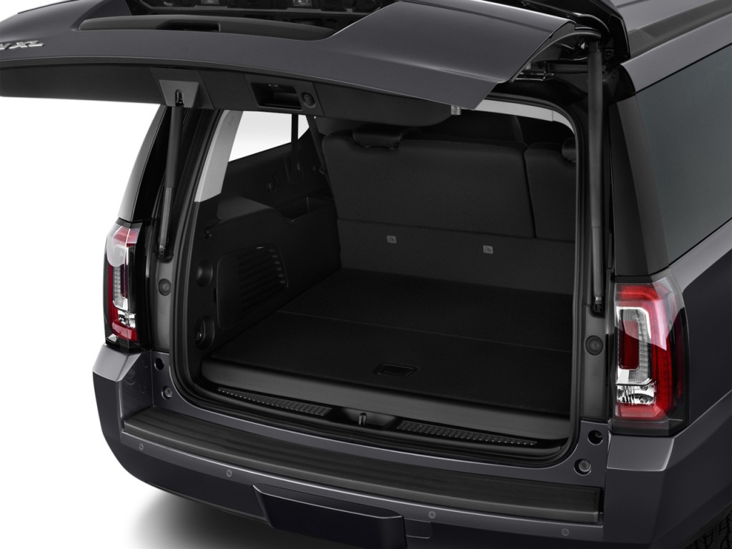 image 2015 gmc yukon xl 2wd 4 door slt trunk size 1024 x 768 type gif posted on july 17. Black Bedroom Furniture Sets. Home Design Ideas