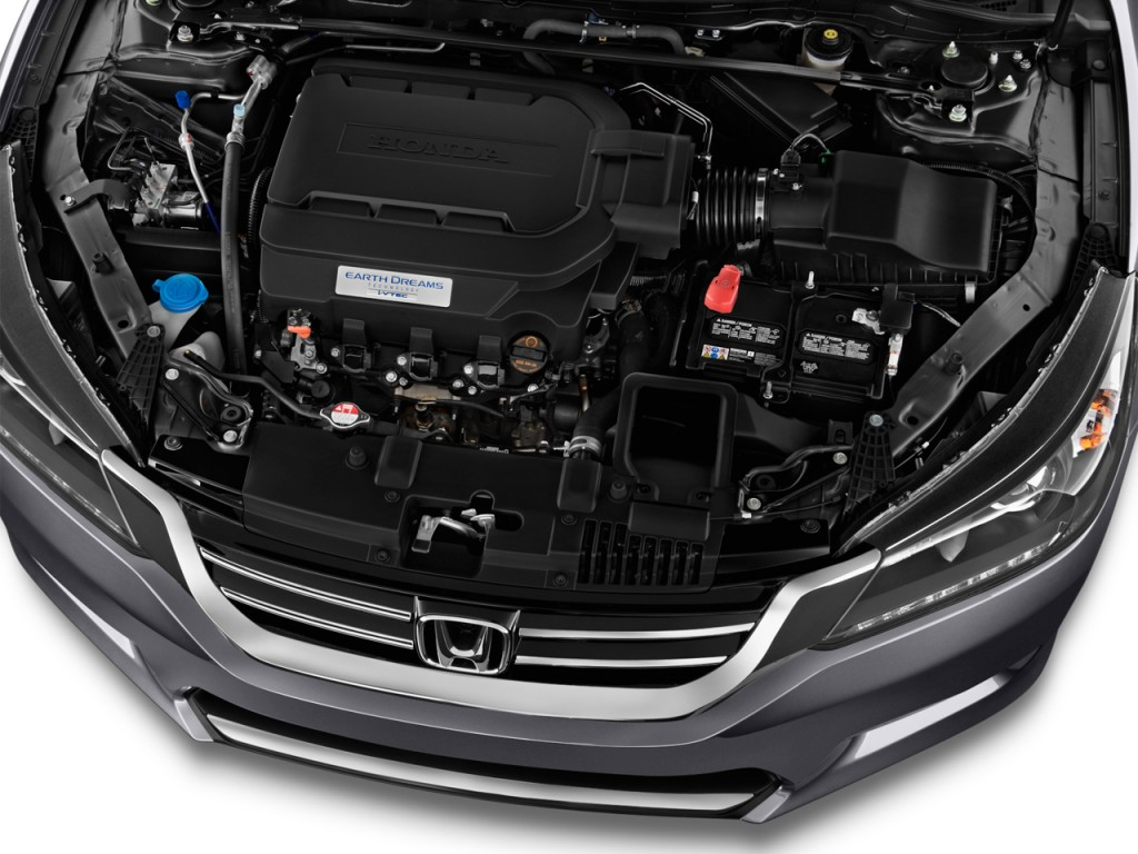 Image 2015 Honda Accord Sedan 4 Door V6 Auto Ex L Engine