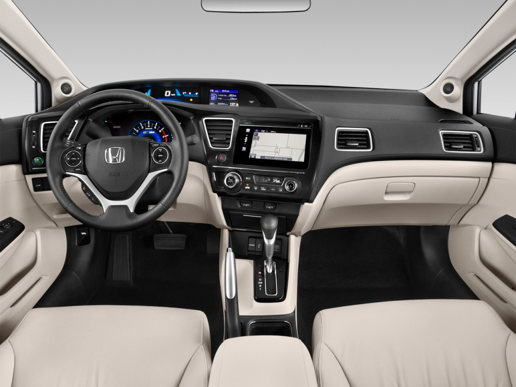 Image: 2015 Honda Civic 4-door Auto CNG Dashboard, size ...