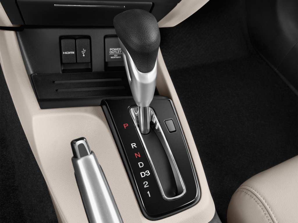 Image: 2015 Honda Civic 4-door Auto CNG Gear Shift, size ...