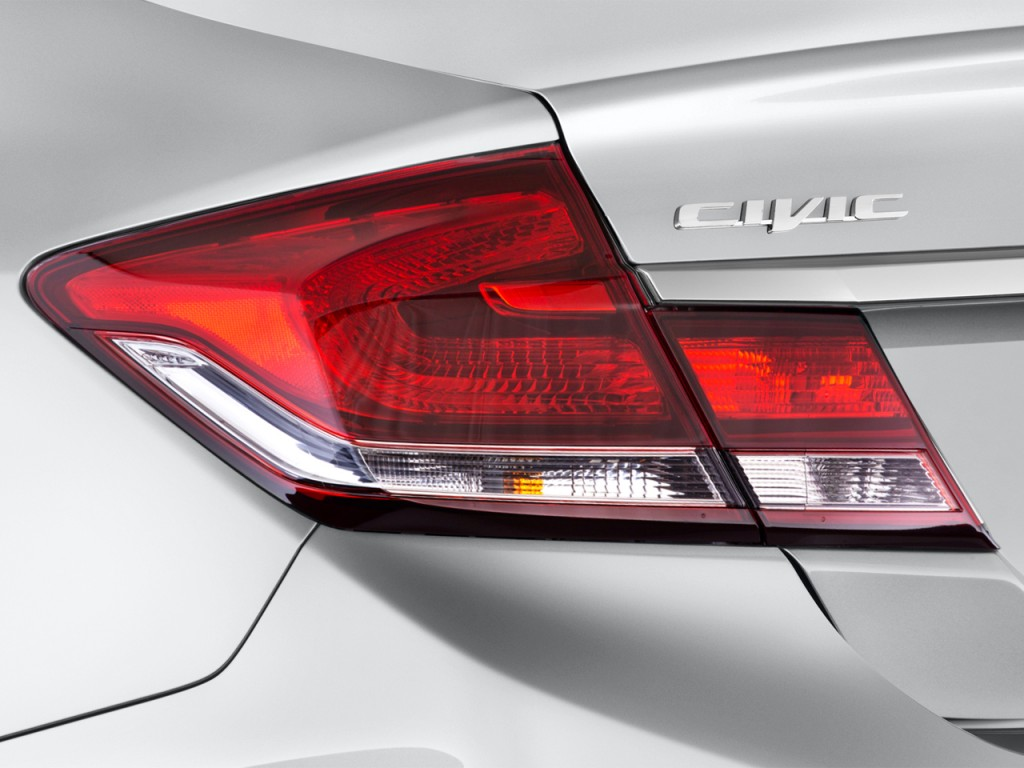 Image: 2015 Honda Civic 4-door Auto CNG Tail Light, size ...