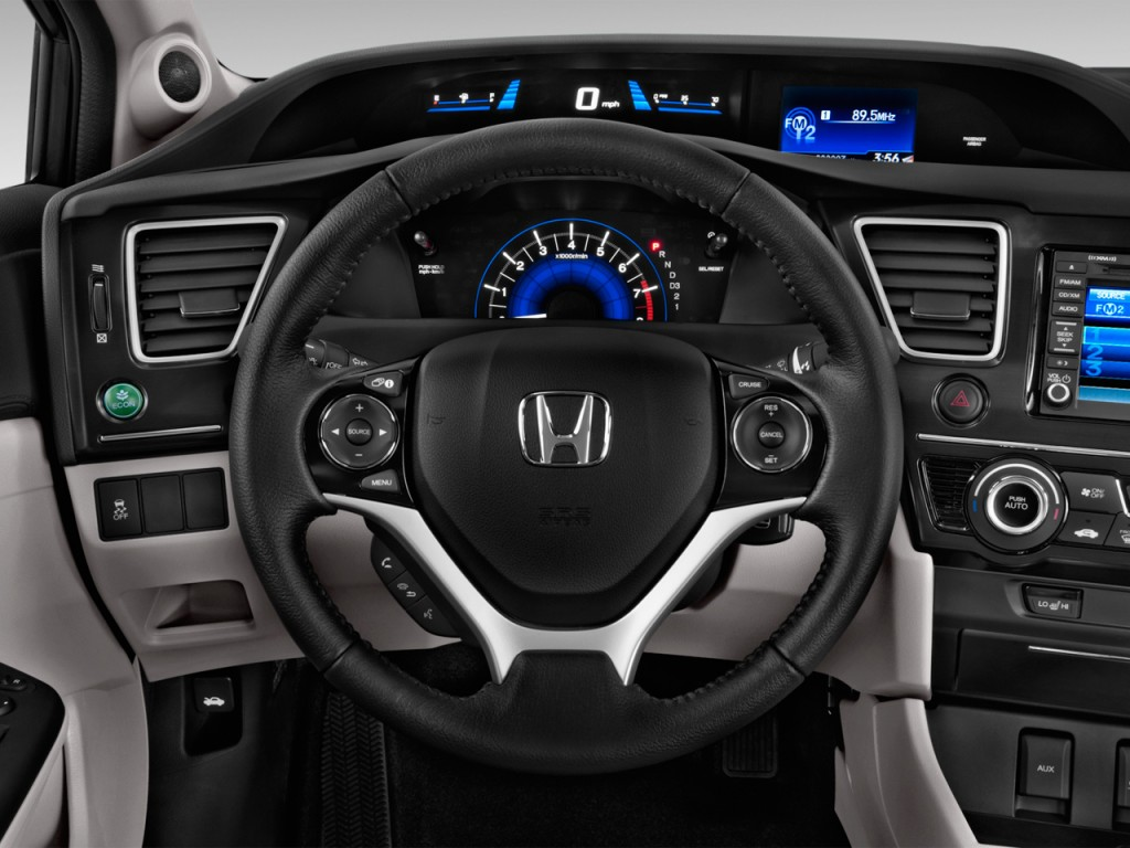 image 2015 honda civic 4 door cvt ex l steering wheel. Black Bedroom Furniture Sets. Home Design Ideas