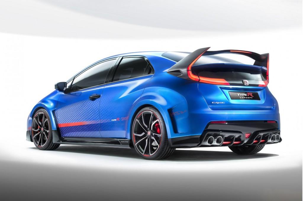 Image: 2015 Honda Civic Type R concept, 2014 Paris Auto Show, size ...