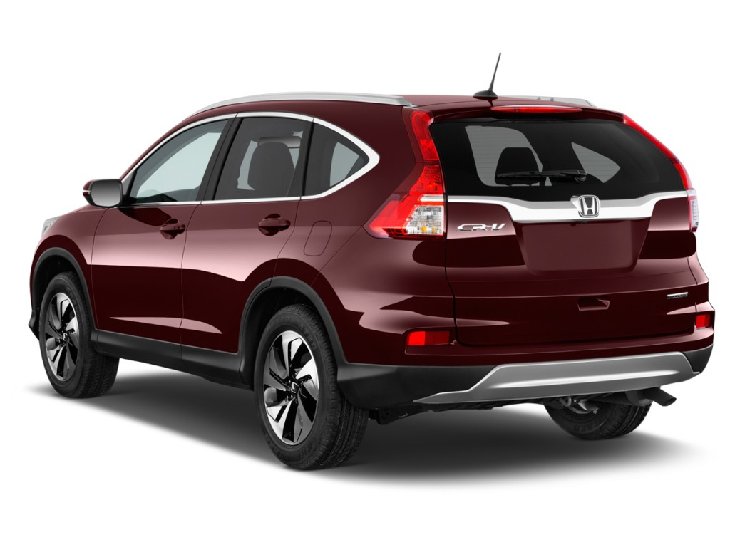 Image 2015 Honda Cr V 2wd 5dr Touring Angular Rear
