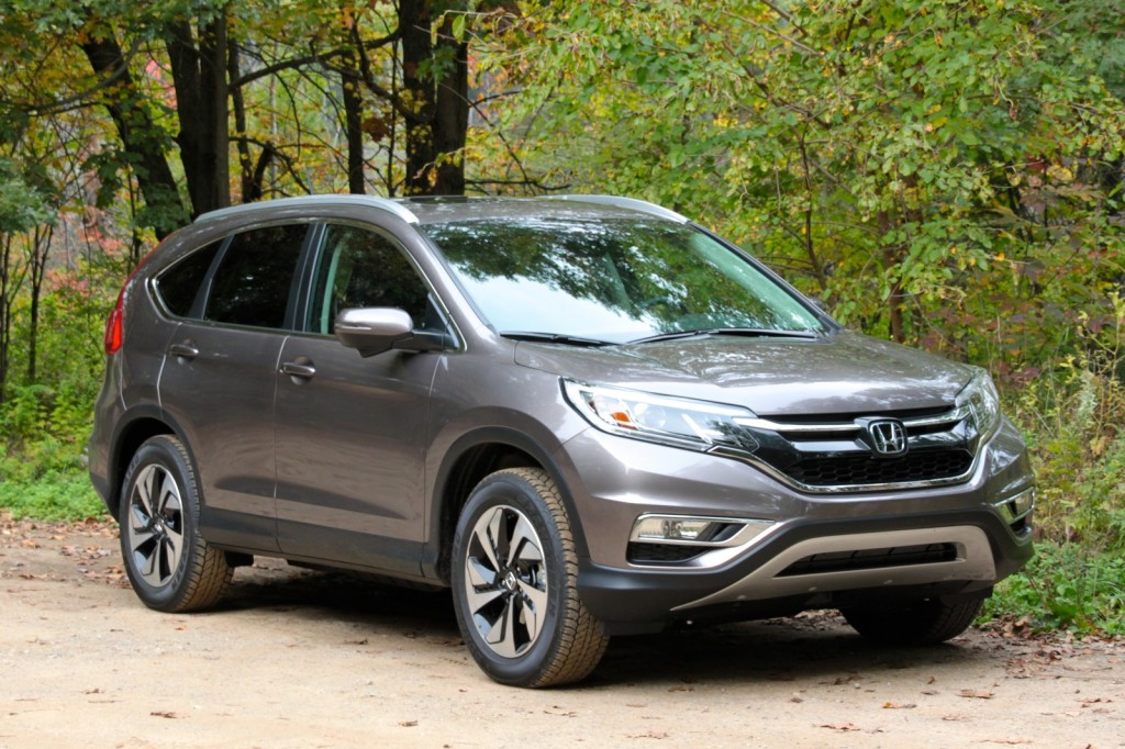 2015 Honda CRV Gas Mileage Test Of Updated Crossover SUV