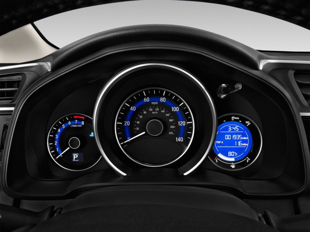 Image 2015 Honda Fit 5dr Hb Cvt Lx Instrument Cluster Size 1024 X 768 Type Gif Posted On