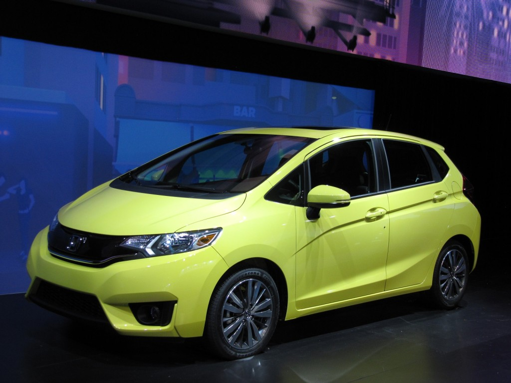 Image: 2015 Honda Fit launch at 2014 Detroit Auto Show ...