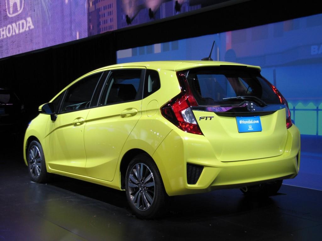 2015 Honda Fit launch at 2014 Detroit Auto Show