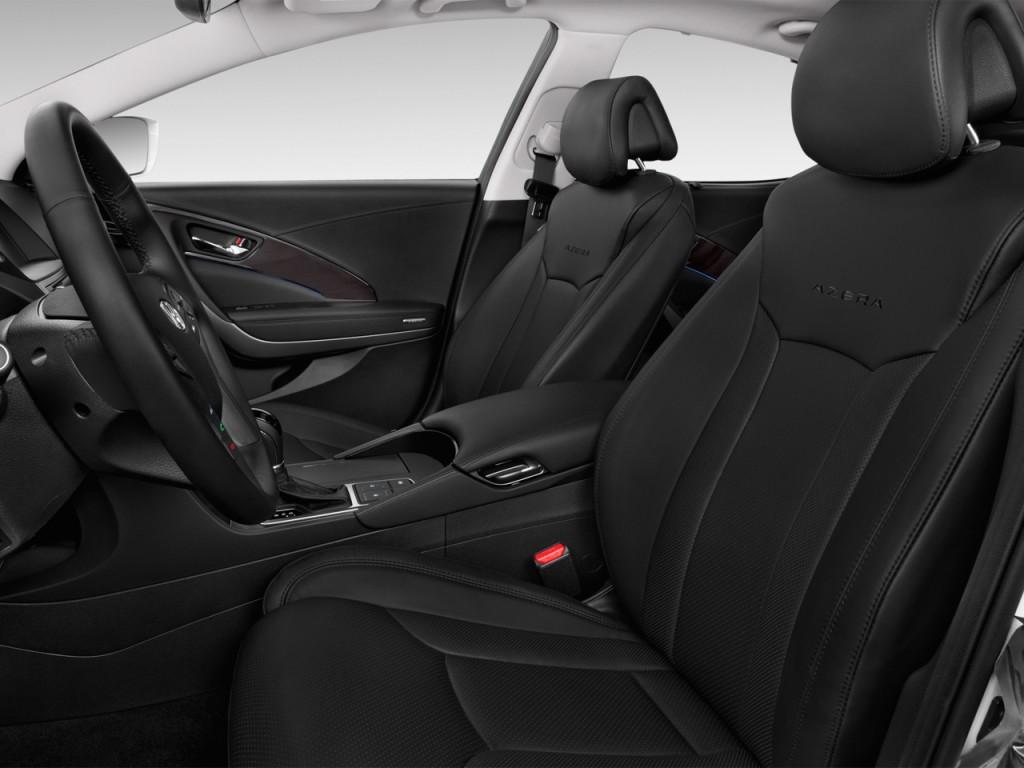 Image 2015 Hyundai Azera 4 Door Sedan Limited Front Seats