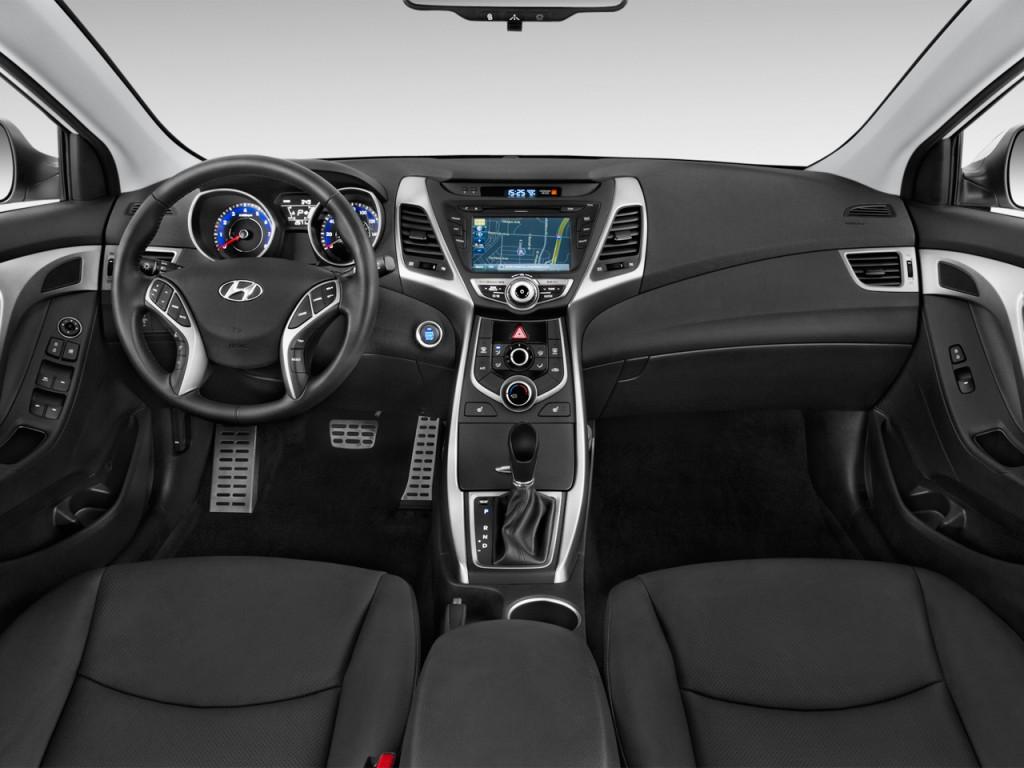 Image 2015 Hyundai Elantra 4 Door Sedan Auto Sport Pzev
