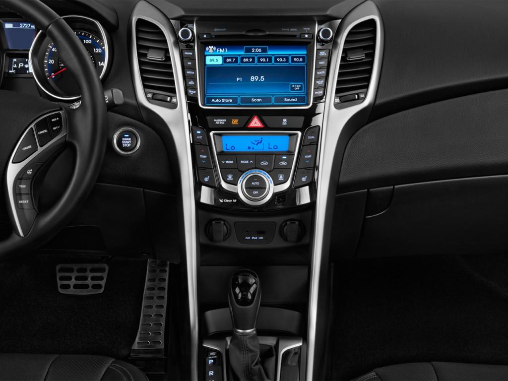 Image: 2015 Hyundai Elantra GT 5dr HB Auto Instrument ...