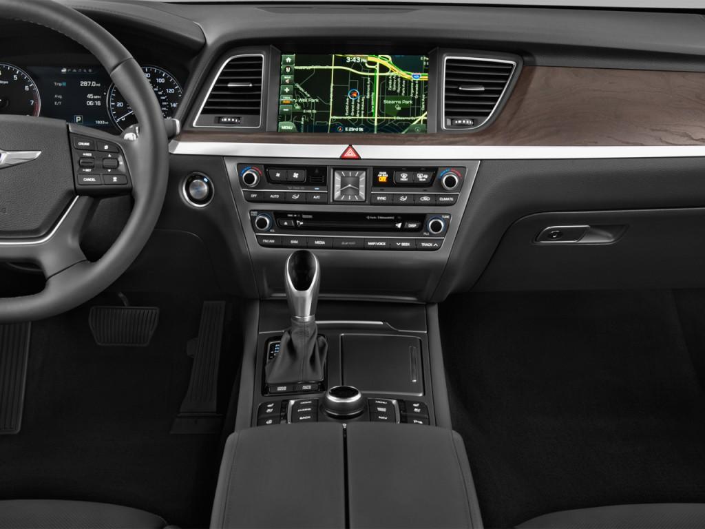 Image 2016 Hyundai Genesis 4 Door Sedan V6 3 8l Rwd Instrument