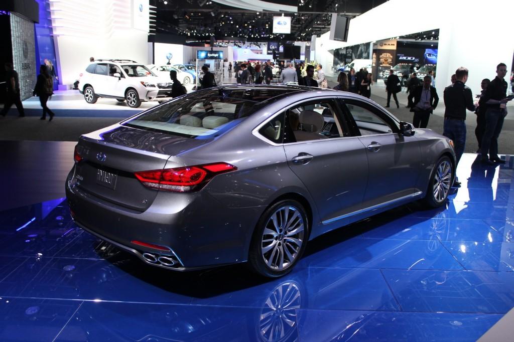 Image 2015 Hyundai Genesis 2014 Detroit Auto Show Live
