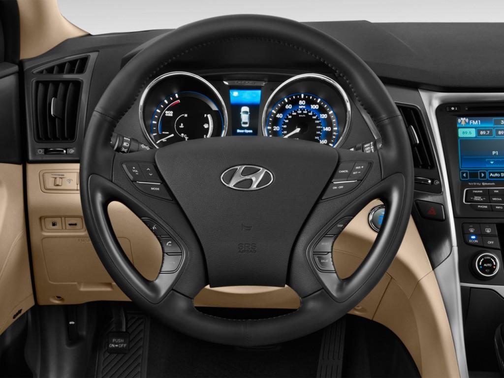 image 2015 hyundai sonata hybrid 4 door sedan limited steering wheel size 1024 x 768 type. Black Bedroom Furniture Sets. Home Design Ideas