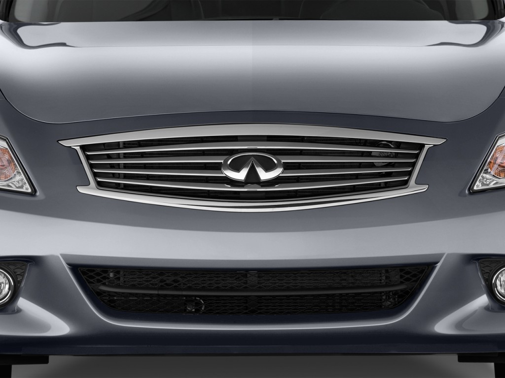 Image: 2015 Infiniti Q40 4-door Sedan RWD Grille, size ...