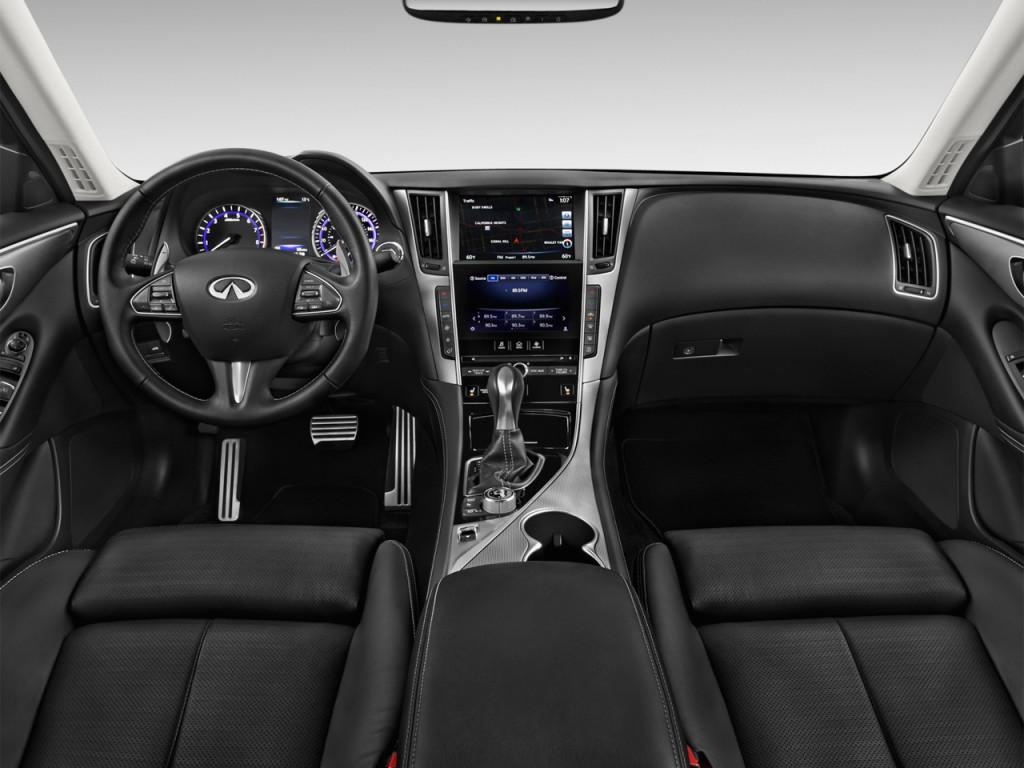 Image: 2015 Infiniti Q50 4-door Sedan Sport RWD Dashboard ...