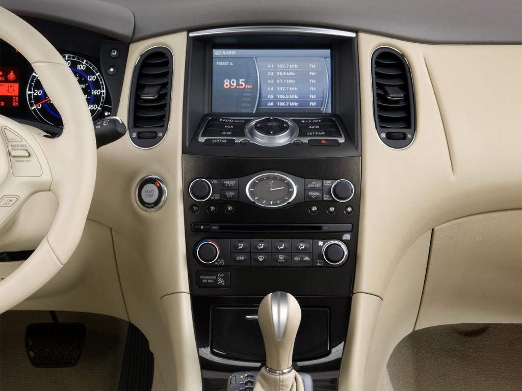 Image: 2015 Infiniti QX50 RWD 4-door Instrument Panel ...