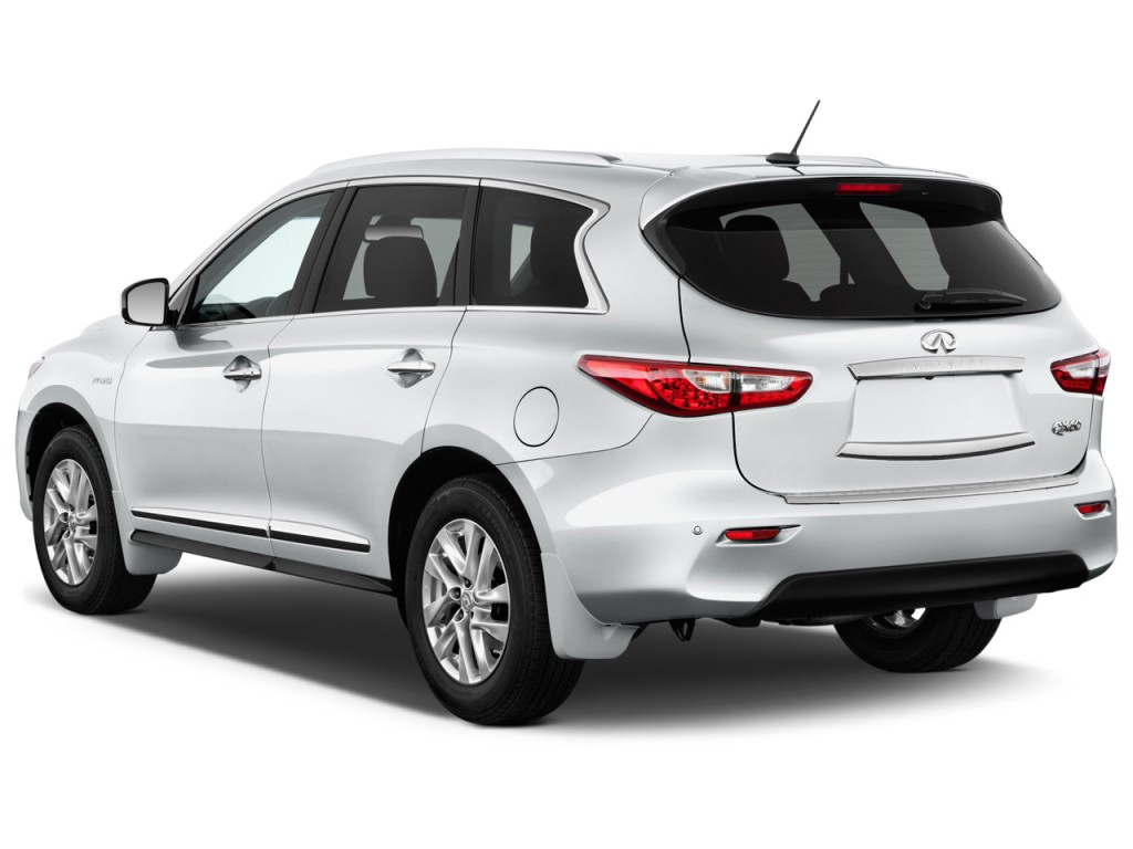 Image: 2015 Infiniti QX60 FWD 4-door Hybrid Angular Rear ...