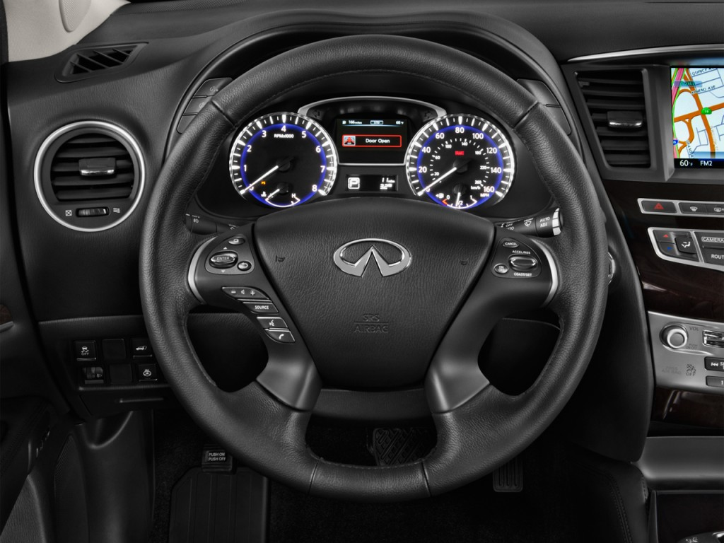 Image 2015 infiniti qx60 fwd 4 door steering wheel size for Infiniti qx60 vs honda pilot