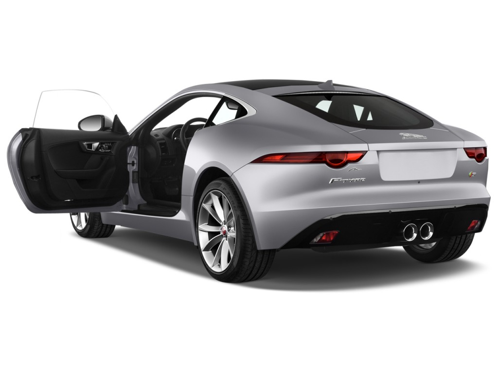 Image 2015 Jaguar F Type 2 Door Coupe V6 S Open Doors